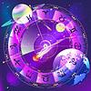 Векторный клипарт: знаки зодиака, зодиакальный круг в пространстве