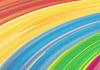 Векторный клипарт: Акварель фоне радуги