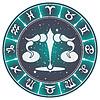 Весы знак зодиака, | Векторный клипарт