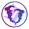 Знак зодиака Близнецы, акварель | Векторный клипарт