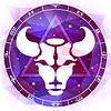 Знак зодиака Телец | Векторный клипарт