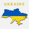 War in der Ukraine Konzept