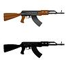 Karabin szturmowy AK 47 | Stock Vector Graphics