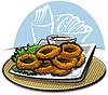 Векторный клипарт: кольца кальмара