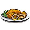 Chicken Kiev Schnitzel