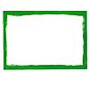 Векторный клипарт: Зеленый гранж кадр