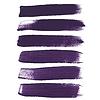 Векторный клипарт: Фиолетовыми чернилами мазки