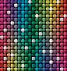 Векторный клипарт: красочные плитки мозаика фон
