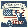 Unabhängigkeitstag Hintergrund. , EPS10