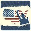 Patriotischen Hintergrund. , EPS10