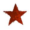 Red Grunge Sterne