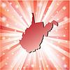 Red West Virginia