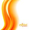 Векторный клипарт: Абстрактный размытым оранжевый фон пламени