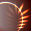 Векторный клипарт: Абстрактный листа формы факела
