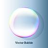Векторный клипарт: Прозрачный мыльный пузырь