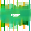 Векторный клипарт: фон с зелеными размытыми линиями
