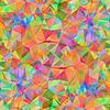 Векторный клипарт: Красочные картины с хаотической треугольников