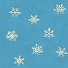 Векторный клипарт: Vintage бесшовные шаблон с снежинки