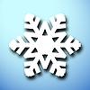 Векторный клипарт: Вырежьте рождественские снежинки