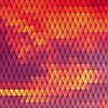Векторный клипарт: Sundown тематический фон с алмазной сетки