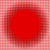 Векторный клипарт: Рассеянный красный фон шарики