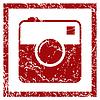Kamera-Grunge-Ikone