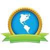 Gold Kontinent Amerika logo