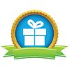 Gold Geschenk-logo