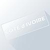 Cote d Ivoire einzigartigen Knopf
