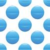 Blaue Kugel Muster