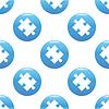 Puzzle piece Schild Muster