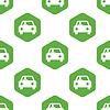 Fahrer Auto Muster