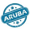 ARUBA Rundstempel | Stock Vektrografik