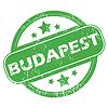 Budapest grünen Stempel