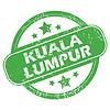 Kuala Lumpur green stamp