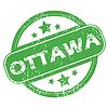 Ottawa grünen Stempel