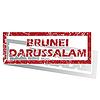 Brunei Darussalam umrissen Stempel