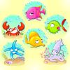 Lustige Seetiere