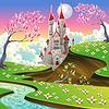 Panorama mit Schloss