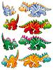 Arten von Dinosauriern