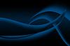 Abstrakte Kurve und wellige Struktur blauen Hintergrund | Stock Illustration