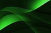 Abstrakt Kurve grünen Hintergrund | Stock Illustration