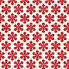 Векторный клипарт: Красные цветы фон