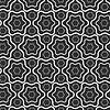 Векторный клипарт: Бесшовные линии модели с волнистыми, шестиугольника фоне