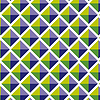 Nahtlose geometrische Muster Fliesen Hintergrund | Stock Vektrografik