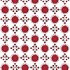 Векторный клипарт: Красный абстрактные бесшовные модели