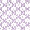 Векторный клипарт: Бесшовные фиолетовые цветы фон