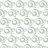 Векторный клипарт: бесшовные кривая два тона и волнистые фон