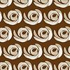 Векторный клипарт: Бесшовные цветочный текстурированный фон