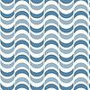 Nahtlose geometrische Muster mit gewellten Hintergrund | Stock Vektrografik